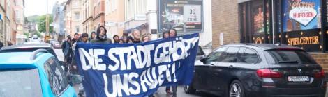 Kurzbericht zu den 1. Mai Aktivitäten in Stuttgart