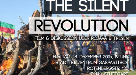 "Film zu Rojava: ""The silent revolution"" und Tresen"
