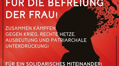 Für die Befreiung der Frau - 8. März 2017