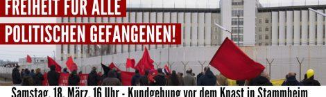 Kundgebung zum Tag der politischen Gefangenen