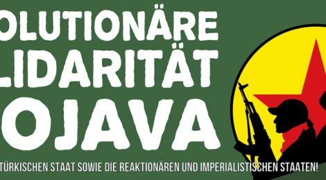 Revolutionäre Solidarität mit Rojava: Celox in Rojava angekommen