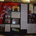 """Wandtafel zur Kampagne """"Revolutionäre Solidarität mit Rojava"""" und zum 1. Mai"""