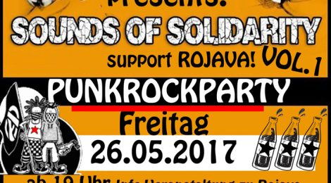 """Sounds of Solidarity - Support Rojava!"" (in Schwäbisch Gmünd)"