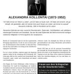 Tafel - Alexandra Kollontai