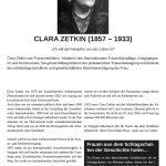 Tafel - Clara Zetkin