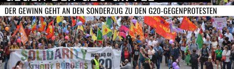 Soli-Kneipe für die Proteste gegen den G20-Gipfel