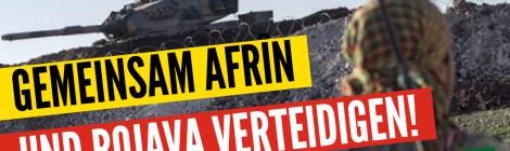 Afrin ist in Gefahr - Solidaritätskundgebung