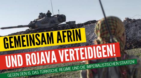 Solidarität mit Afrin