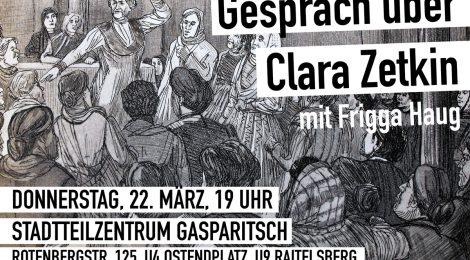 Gespräch über Clara Zetkin - mit Frigga Haug