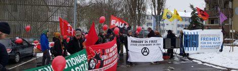 Bericht zu den Aktivitäten am Tag der politischen Gefangenen 2018 in Stuttgart