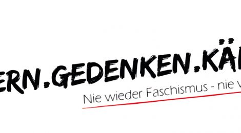 Erinnern.Gedenken.Kämpfen - Nie wieder Faschismus - Nie wieder Krieg!