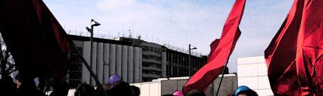 Kundgebung vor der JVA Stammheim