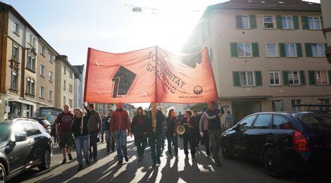 Kurzbericht - Der Revolutionäre 1. Mai in Stuttgart