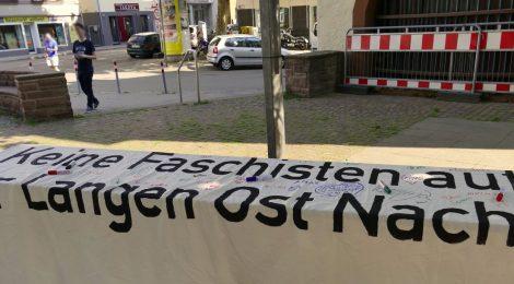 Bericht zur Kundgebungstour - Keine Faschisten in unserem Viertel