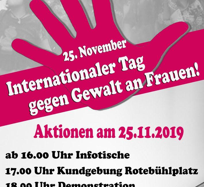 tag gegen gewalt an frauen 2019